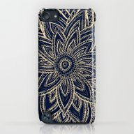 Cute Retro Gold Abstract… iPod touch Slim Case