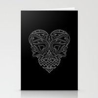 Heart Inside Stationery Cards