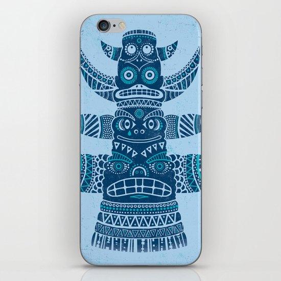 Totem tear - blue iPhone & iPod Skin