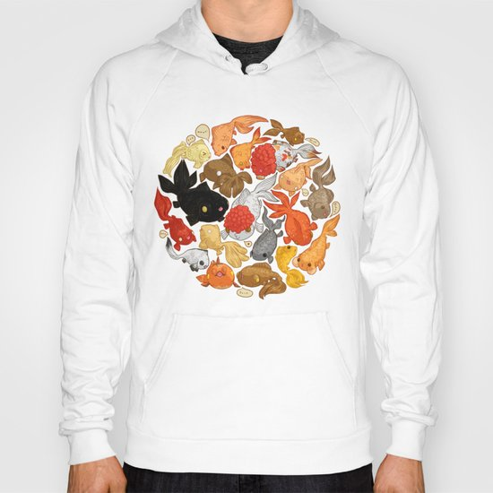 For The Love Of Goldfish Hoody