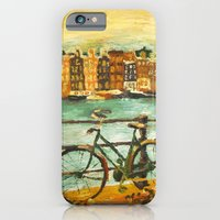 iPhone & iPod Case featuring Going Dutch (yellow) by Emily Swedberg (Ito Inez)