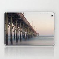 Pier at Dusk Laptop & iPad Skin