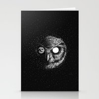 Moon Blinked Stationery Cards