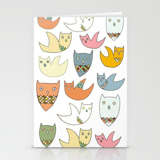 Owlz Stationery Card