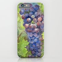 Grapes Watercolor   Wine Lovers iPhone 6 Slim Case
