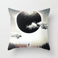 A Dream of Gravity Throw Pillow