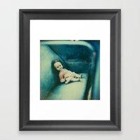 The Doll Framed Art Print