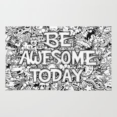 Be Awesome Today! Rug