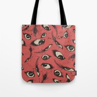 Pink Eye Tote Bag