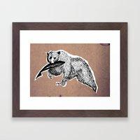 Bear 3 Framed Art Print