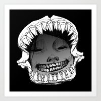 Shark Snark Art Print