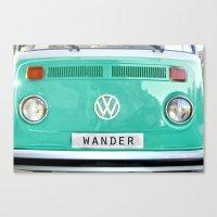 Wander Wolkswagen. Summe… Canvas Print
