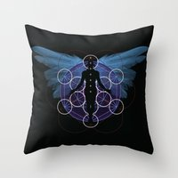 Awakened Throw Pillow