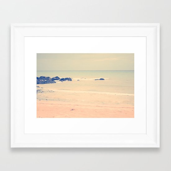 A Dream With You In It Framed Art Print