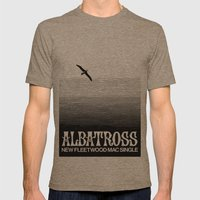 Albatross Mens Fitted Tee Tri-Coffee SMALL
