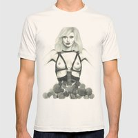 Abbey Lee Mens Fitted Tee Natural SMALL
