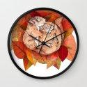 Squirrel Spoon Wall Clock