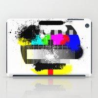 TV Trash iPad Case