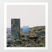 I Wanted To Go Swimming … Art Print