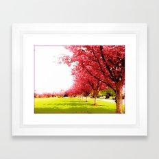 Hananoki Framed Art Print