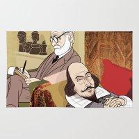 Freud Analysing Shakespe… Rug