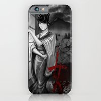 iPhone & iPod Case featuring Kunoichi 2 of 4 by Hexapus Ink