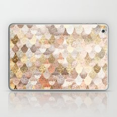 MERMAID GOLD Laptop & iPad Skin