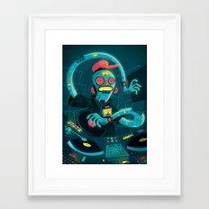 DJ Machine 2000 Framed Art Print