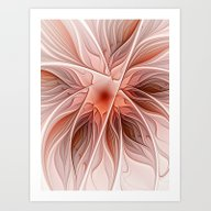 Flower Decoration Art Print