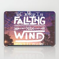The sky is falling, the wind is calling iPad Case