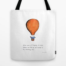 Jeffrey was fed up Tote Bag