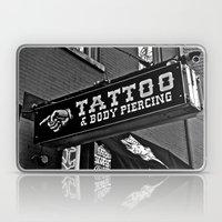 Tattoos Here Laptop & iPad Skin