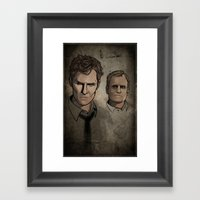 Darkness Becomes You Framed Art Print
