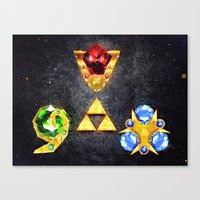 The Timeless Legend Of Z… Canvas Print