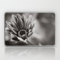 Flower in Black and White Laptop & iPad Skin