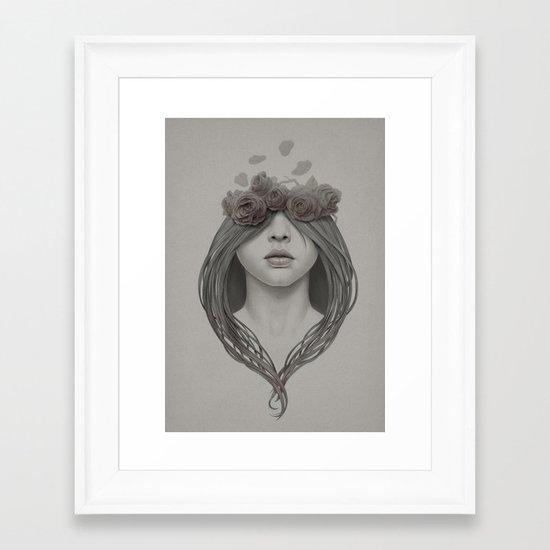 214 Framed Art Print