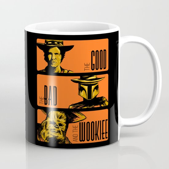 The Good, the bad and the wookiee Mug