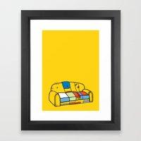 RESERVED Framed Art Print