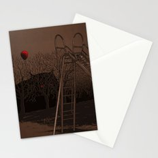 when monster can't live happy forever Stationery Cards