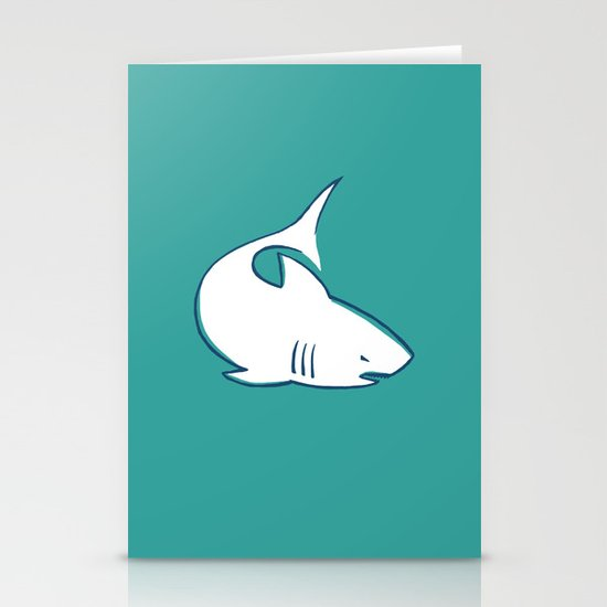 Shark Stationery Card