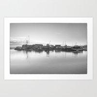 Bristol Docks Art Print