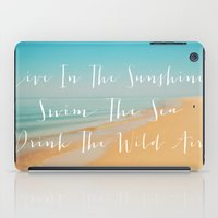 Live The Sunshine iPad Case