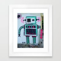 Mr. Roboto Framed Art Print