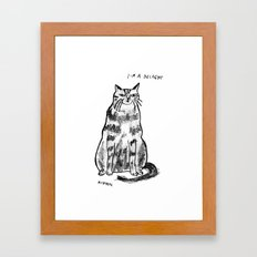 I'm a delight Framed Art Print