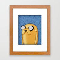 Jake Adventure Time Framed Art Print