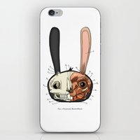 Visible Floating BunnyHe… iPhone & iPod Skin