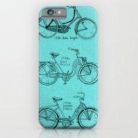 Vintage Ladies Bicycles iPhone 6 Slim Case