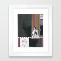 Collage #8 Framed Art Print