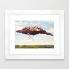 Dreams of moving on Framed Art Print