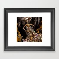 The Magic Of Books Framed Art Print